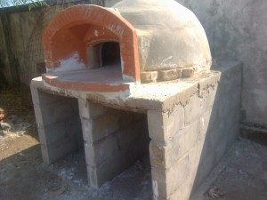 150412 Forno in costruzione 1